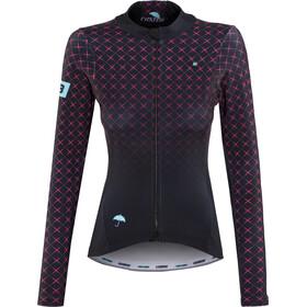 Biehler Thermal Rain Maglia jersey a maniche lunghe Donna, piekfein